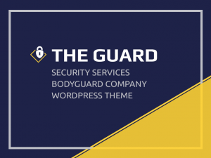 The Guard WordPress Theme Documentation