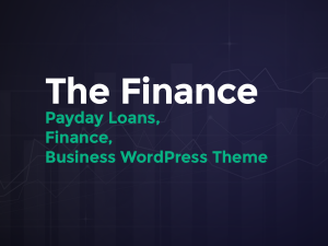 The Finance WordPress Theme Documentation