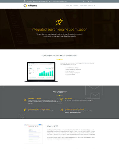 Demo 6: SEO Services WordPress Theme