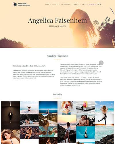 Portfolio for model