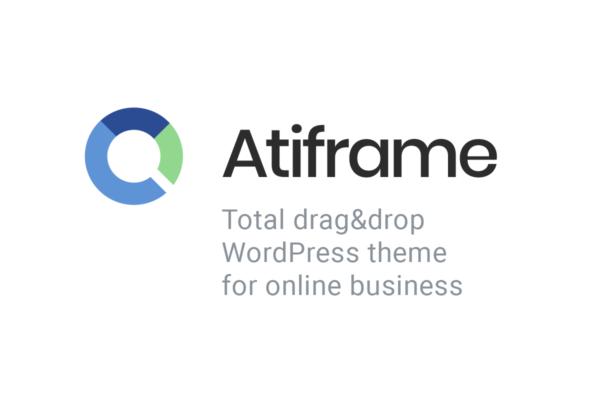 Atiframe drag and drop theme