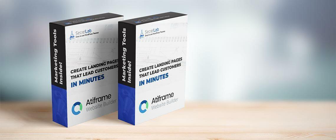 Atiframe Agency WordPress Theme